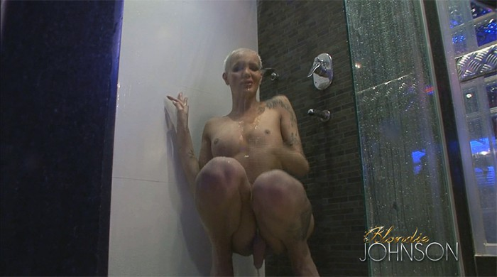 Blondie Johnson Shower